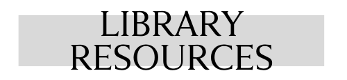 COVID-19 Library Resources